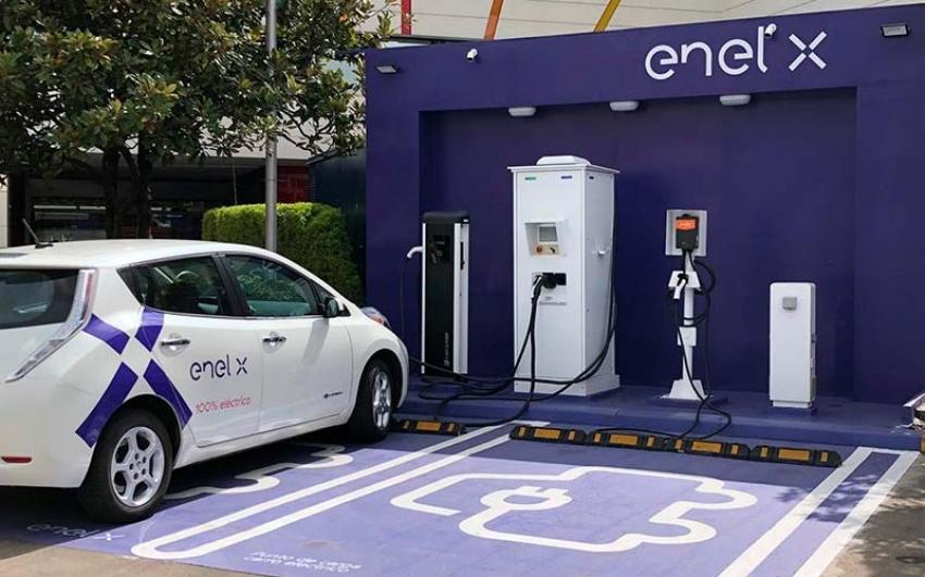 ENEL X modernizó la electrolinera del centro comercial Unicentro