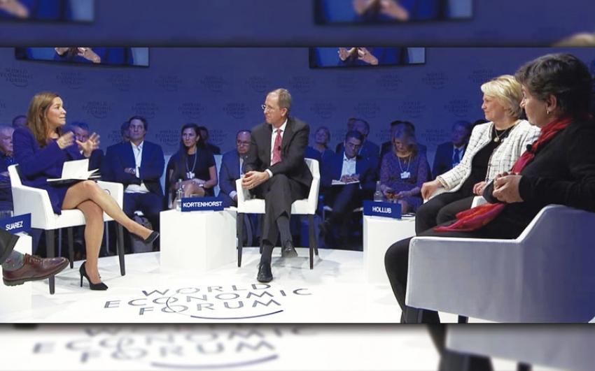 En el Foro Económico Mundial: Colombia, protagonista de la agenda de transición energética.