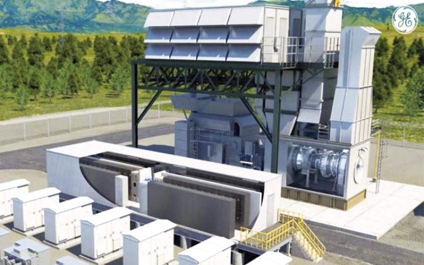 Aeroderivadas GE para la estabilización de redes.