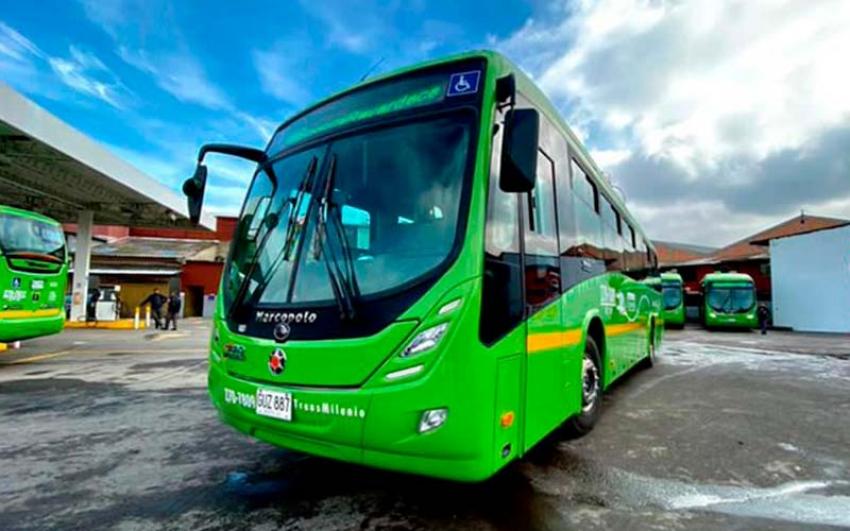 Bogotá le da la bienvenida a la primera flota de buses eléctricos