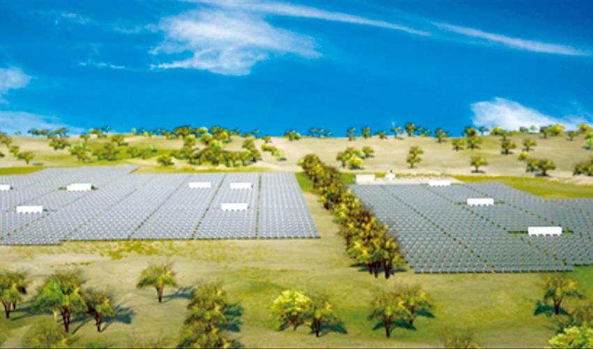 ENEL construye la planta solar más grande de Colombia