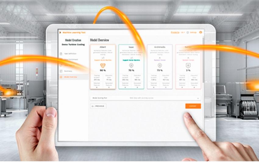 Herramienta de aprendizaje automático industrial asistido de Weidmüller