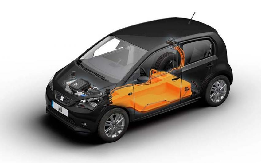 Conversión de un vehículo de combustión interna a eléctrico