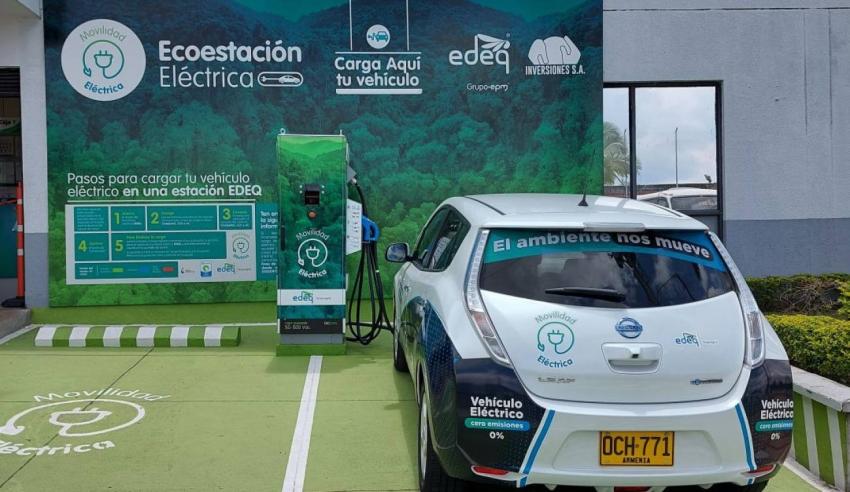 En Colombia, EDEQ instala la primera estación de carga rápida de vehículos eléctricos del Quindío