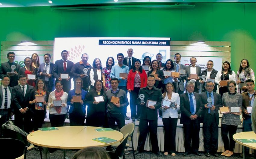 26 empresas fueron reconocidas por su compromiso con el medio ambiente.