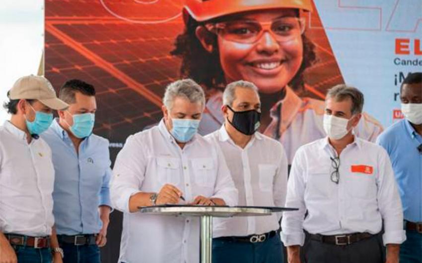 Colombia sanciona la Ley de Transición Energética