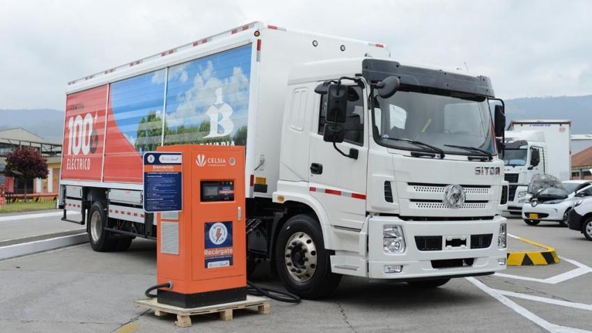 En Colombia, compañía local apuesta a la movilidad eléctrica con la entrada en funcionamiento de 200 camiones eléctricos que rodarán en el 2021