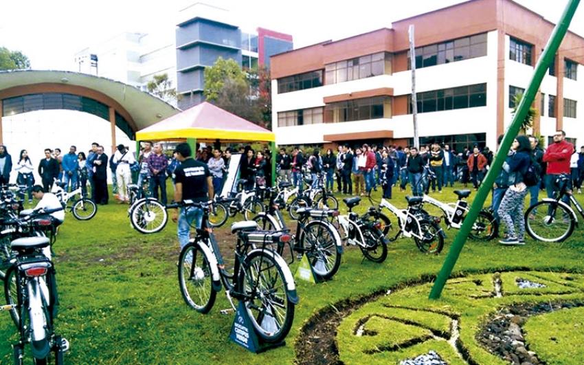 Electromovilidad en la Universidad de Nariño: Bicicletas Campus Verde