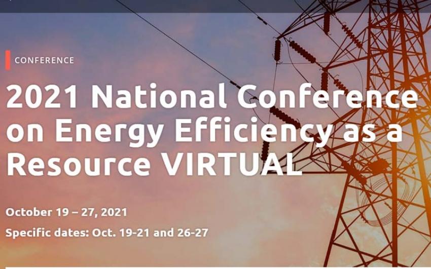 Conferencia Nacional 2021 sobre Eficiencia Energética como Recurso VIRTUAL
