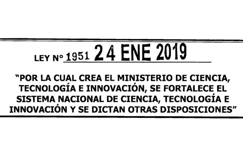 Sancionada ley que crea el Ministerio de Ciencia, Tecnología e Innovación.
