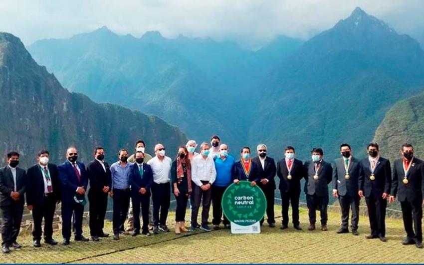 Machu Picchu: primera maravilla turística con certificación de carbono neutral