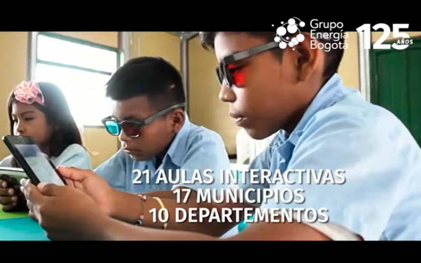 Reconocimiento a las 'aulas solares interactivas' del GEB