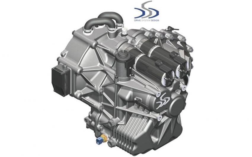 Las reclamaciones de Drive Shift Design han perfeccionado la transmisión de 3 velocidades del vehículo eléctrico.